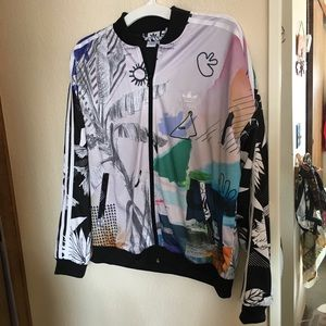 Adidas graphic jacket